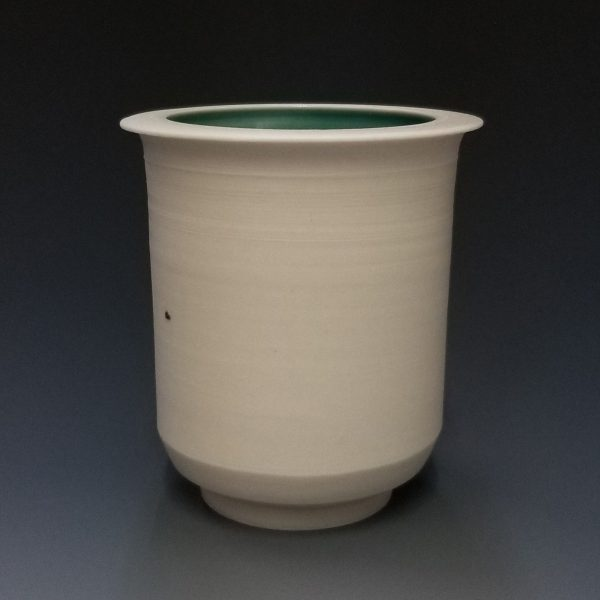 Joe Torke Porcelain Green Cup