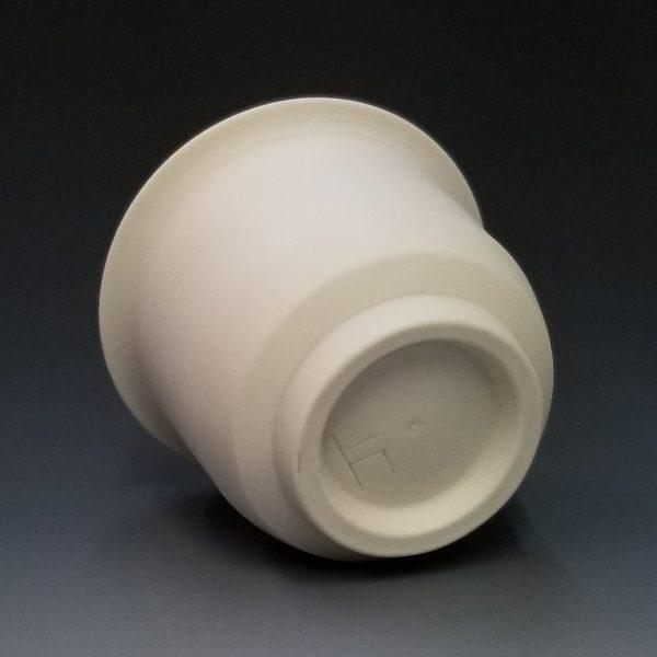 Joe Torke Porcelain Yunomi Bottom