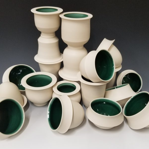 Porcelain Cup Stack